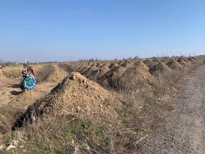 На Украине подготовились к коронавирусу: вырыты сотни могил и закуплены пластиковые пакеты