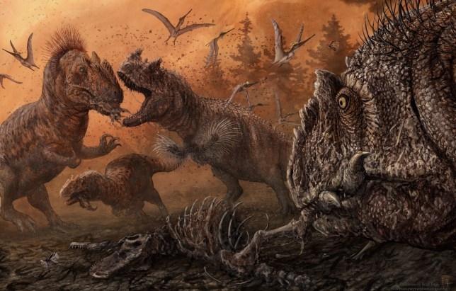 Динозавры занимались каннибализмом, когда пищи было мало, утверждают исследования