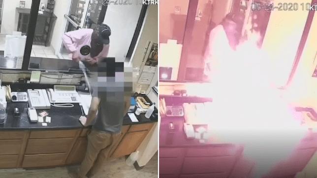 Мужчина поджег сотрудника гостиницы после «совершенно ужасной» попытки ограбления