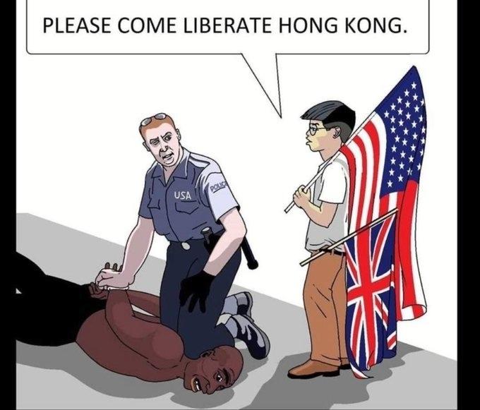 США планируют ввести санкции против Гонконга за подавление бунта