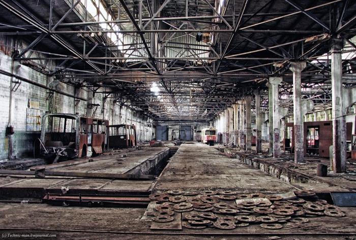 Промышленность Украины ускорила падение