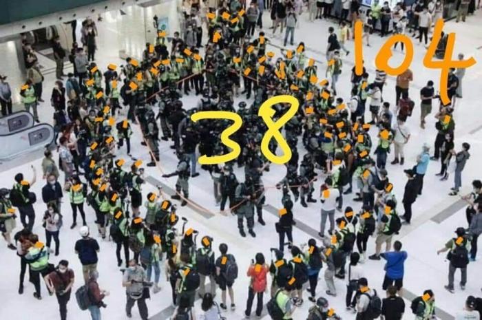 Онлайн-протесты в Гонконге