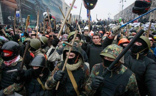 В Киеве снова готовятся массовые беспорядки