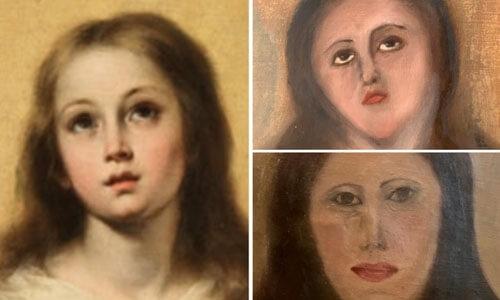 Отреставрированная картина повергла в шок ценителей искусства