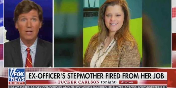 Приёмную мать полицейского выгнали с работы