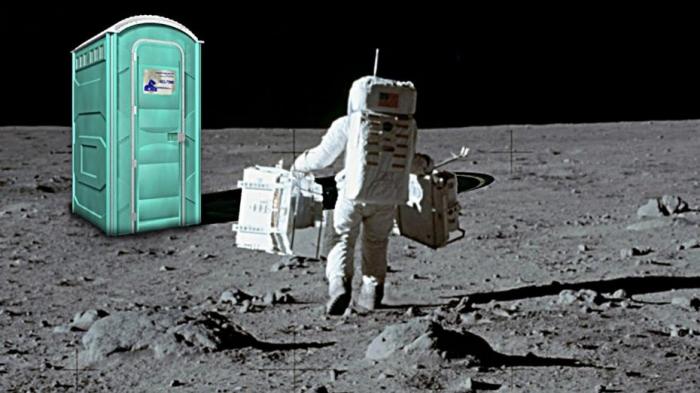 НАСА предлагает $ 35 000 в качестве приза за разработку туалета, который будет работать на Луне