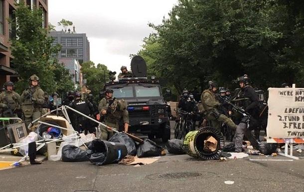 Американская полиция жестко разогнала «Автономную зону» в Сиэтле