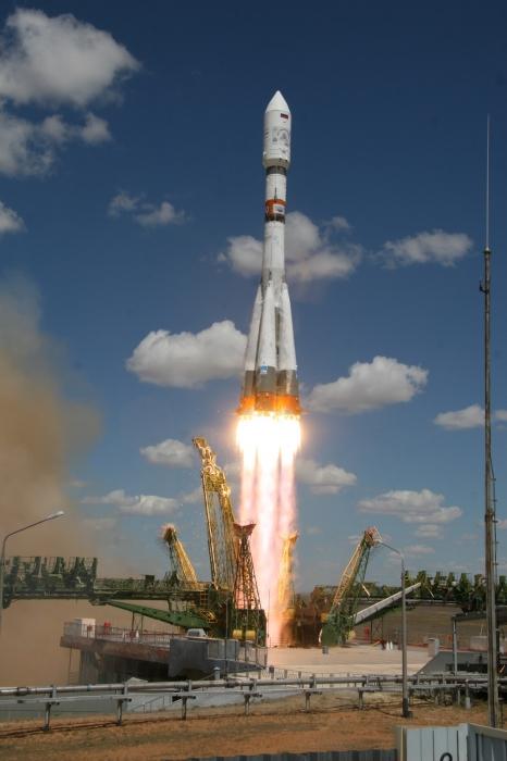 Российская ракета Союз 2.1а установила рекорд скорости