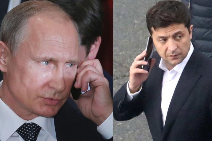 Зеленский пообщался с Путиным по телефону
