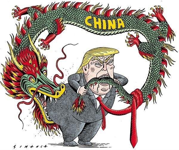 Дональд Трамп пообещал в случае победы на выборах начать экономическую войну против Китая