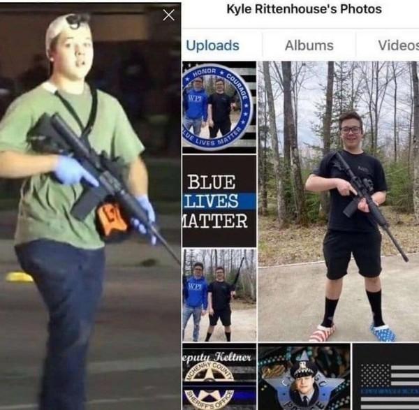 Стреляй, Пятачок: 17-летний житель Иллинойса открыл стрельбу по митингующим