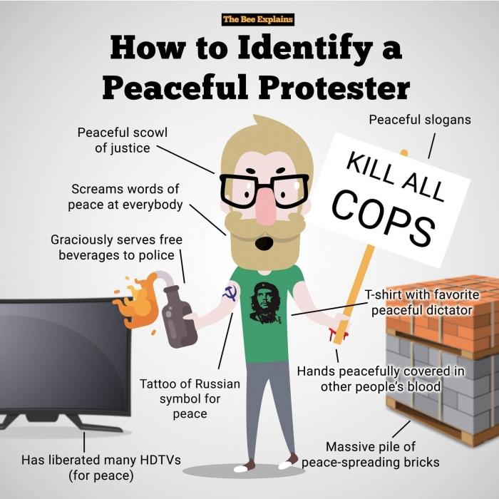 Американцы поняли, кто виноват в протестах