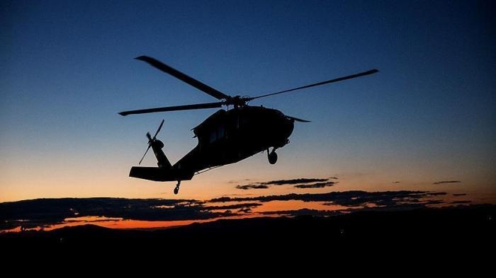 Падение чёрного ястреба: В Калифорнии при крушении вертолета Black Hawk погибли 2 американских солдата, 3 получили ранения