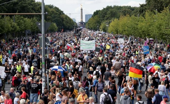 Президент Германии очень негативно высказался о произошедшем штурме Рейхстага