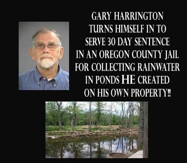 Налог на дождь: американец получил месяц тюрьмы за сбор дождевой воды