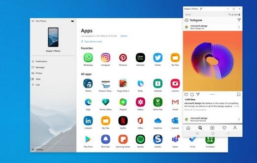 Появилась возможность запускать Android-приложения в среде ОС Windows.
