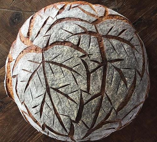 Хлеб может быть не только вкусным, но и красивым