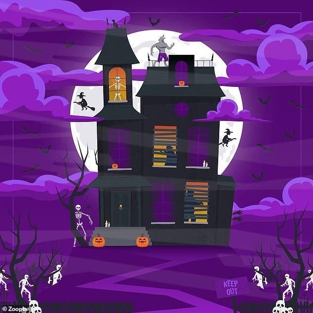 Загадка населённого духами дома бросает вам вызов. Найдите призрака среди других персонажей Хэллоуина. У вас меньше 90 секунд.