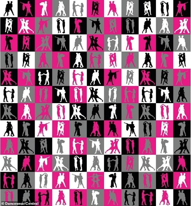 Танцевальная загадка. На картинке вы должны найти однополую женскую пару. Но вы должны побить  70-секундный рекорд