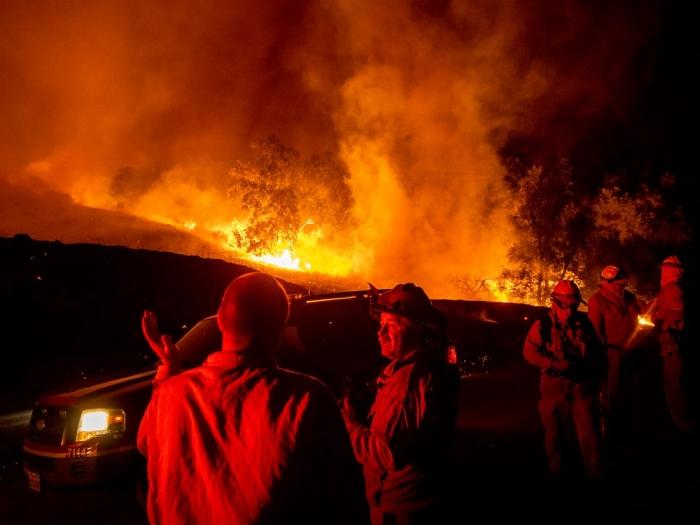 Американские пожарные изъяли электронное оборудование компании Pacific Gas and Electric