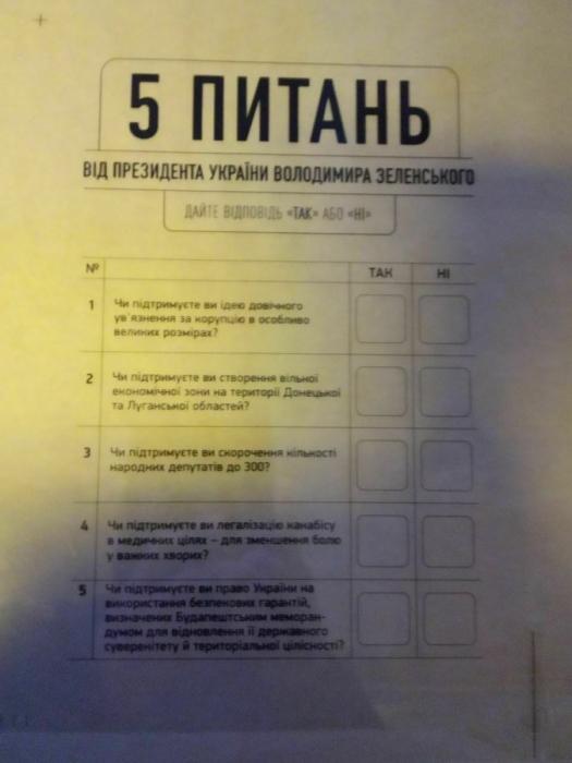 И у меня на это 5 причин: Зеленский дополнит выборы референдумом