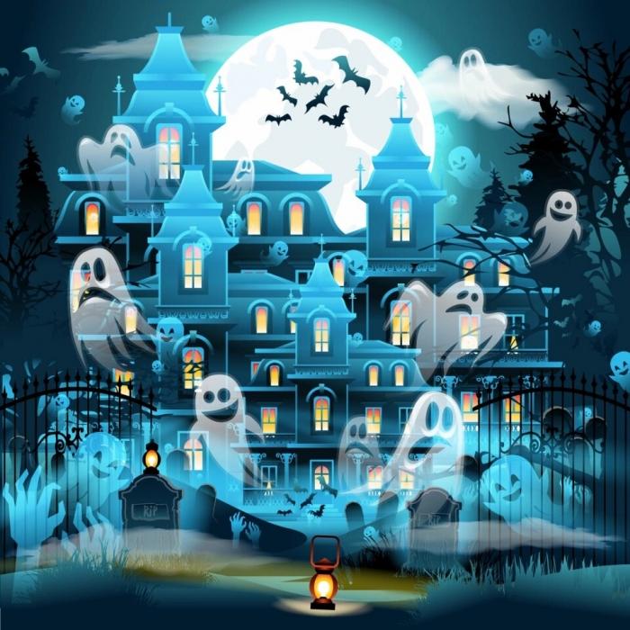 Очень трудная загадка к приближающемуся Хэллоуину. Найди злого призрака менее чем за 2 минуты