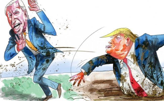 Байден временно потерял лидерство в президентской гонке