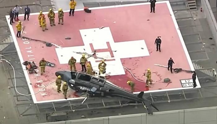 Донорское cердце было успешно пересажено не смотря на крушение вертолета, в котором его доставили