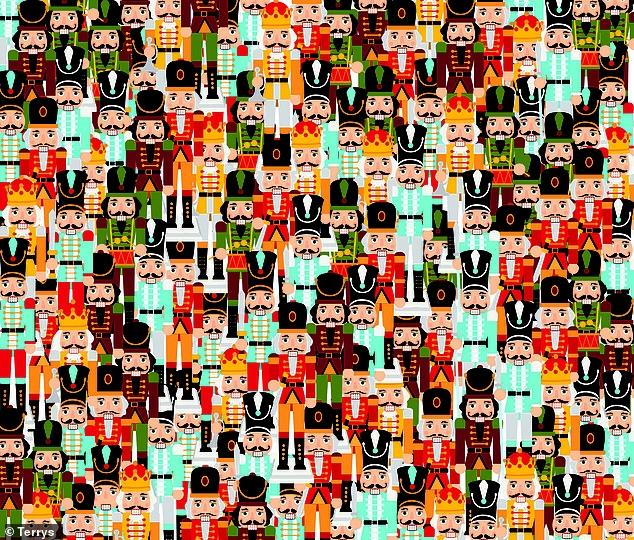 Можете ли вы найти единственного Щелкунчика без усов?