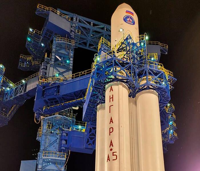 Россия успешно запустила тяжёлую ракету в космос