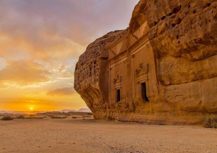 Древний город Хегра простоял нетронутым 2000 лет. Теперь он открыт для туристов