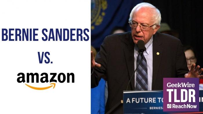 Берни Сандерс против Amazon
