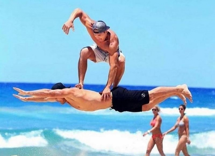 Отлично! День на пляже удался на славу. Посмотрите, как всем понравилось!