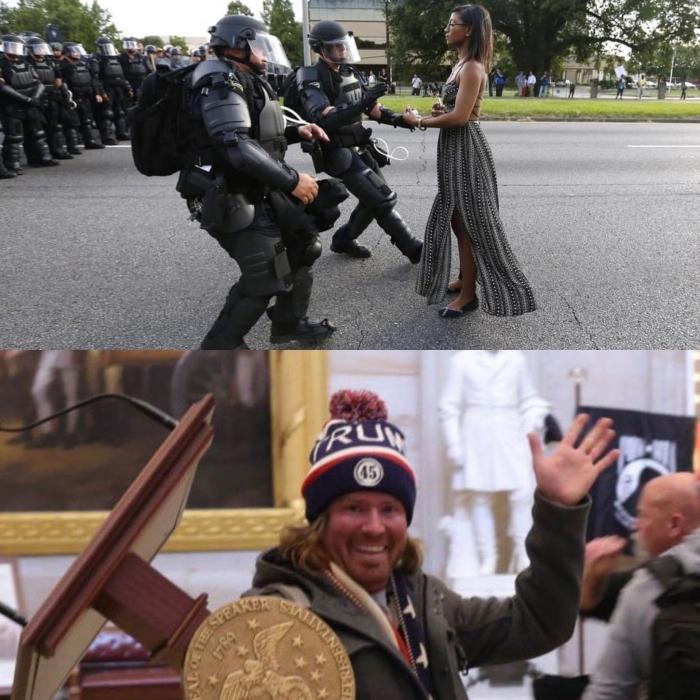 Демократия или фашизм: в США собираются репрессировать всех участников митинга протеста