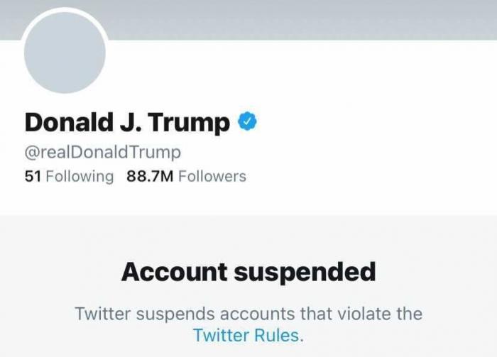 Свобода слова по-американски: аккаунт Трампа в твиттере заблокирован навсегда