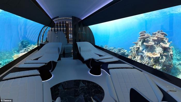 Фирма предлагает поставить на стены самолёта гигантские OLED-экраны, показывающие фильмы и пейзажи