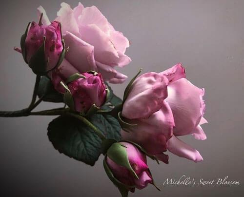 Эти сахарные цветы невозможно отличить от настоящих