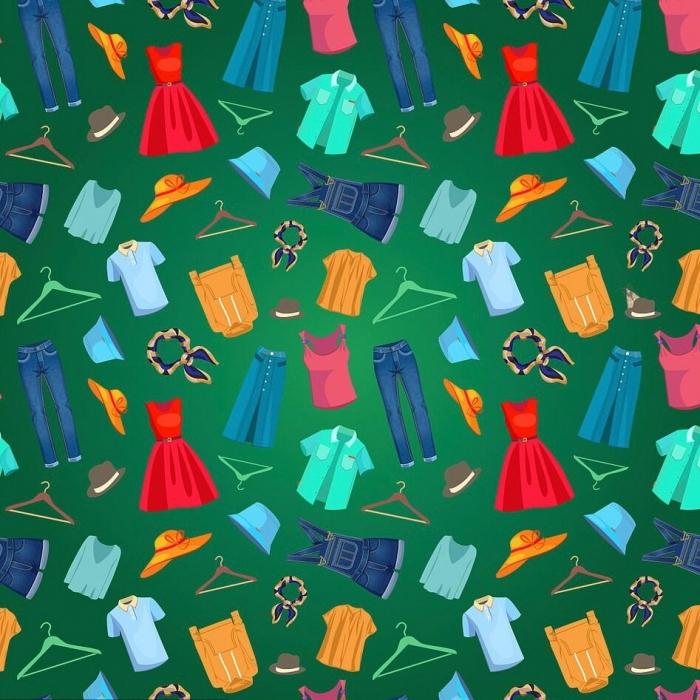 В этой хитрой головоломке среди различной одежды порхает моль. Как быстро вы сможете её обнаружить?