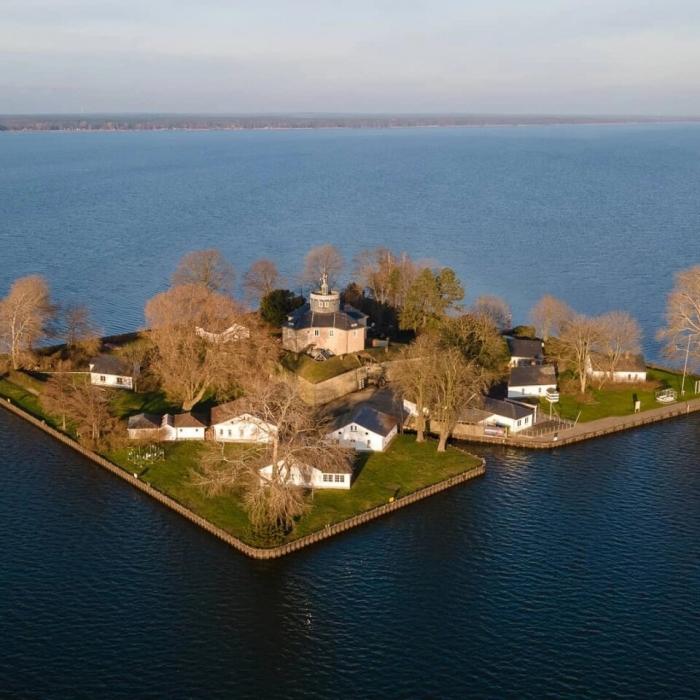 Райский остров посреди немецкого озера – идеальное убежище во время пандемии