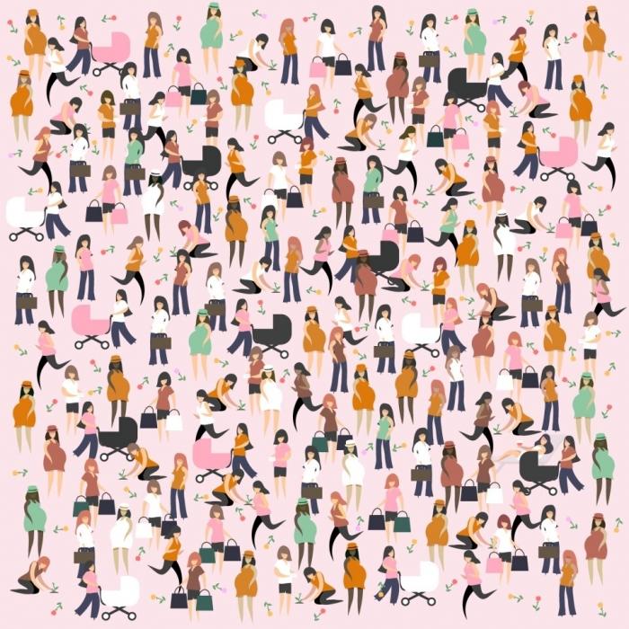 Сможете ли вы отгадать зрительную загадка на Масленицу. Нужно найти одинокую холёную (избалованную) мамочку менее чем за 20 секунд.