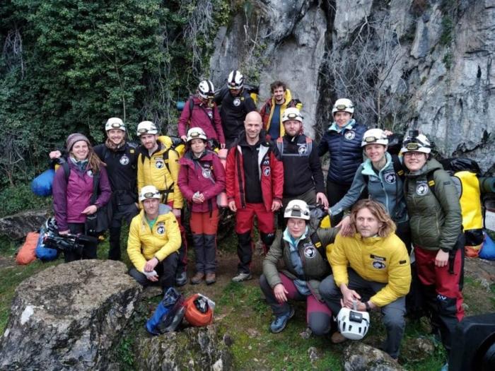 Добровольцы остались во французской пещере на 40 дней для эксперимента «Время в глубине»