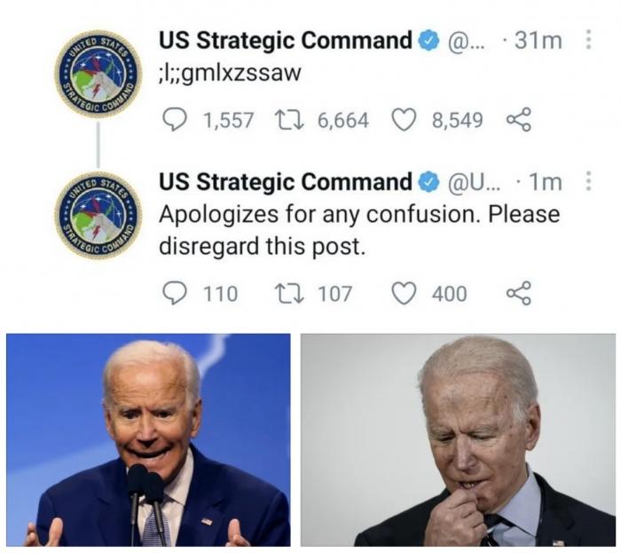 Ребёнок добрался до твиттера Стратегического командования Вооруженных сил США