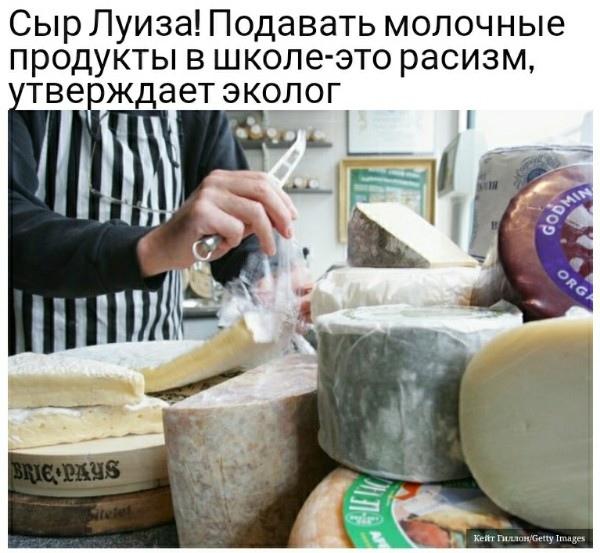 Маразм крепчает: западные экологи требуют запретить молоко и молочные продукты, ибо они