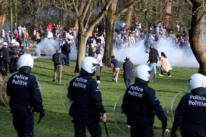 Первоапрельская шутка привела к массовому избиению граждан Брюсселе