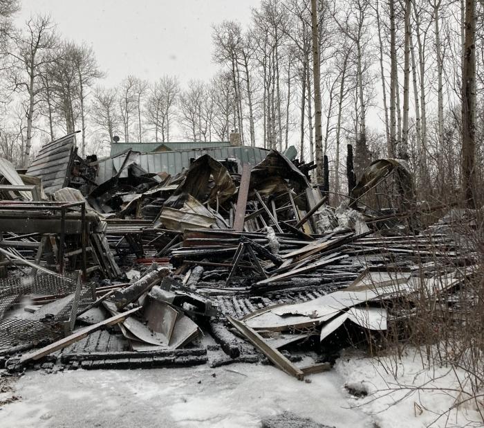 Канадская семья попросила пожарников уехать и не тушить их, будучи не в силах заплатить за вызов