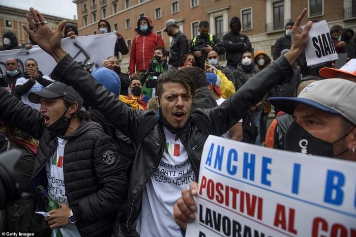 Гнев европейцев нарастает, когда жесткие карантины и 3-я волна захлестывают континент, в то время как Англия и США вновь открываются