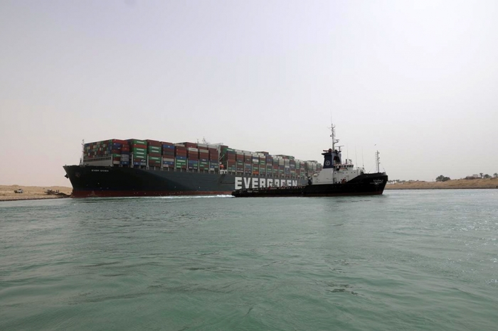 Египет конфисковал блокировавшее Суэцкий канал судно до выплаты почти $1 млрд