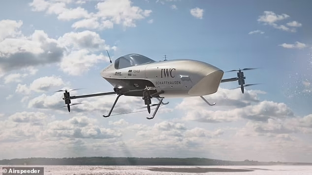 Первый в мире летающий гоночный автомобиль, который может разгоняться до 100 км в час всего за 2,8 секунды