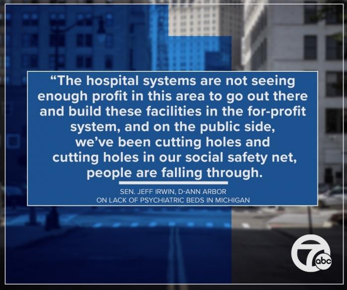 В Мичигане девочка спала в приёмном покое скорой помощи 23 дня, пока не освободилось место в больнице