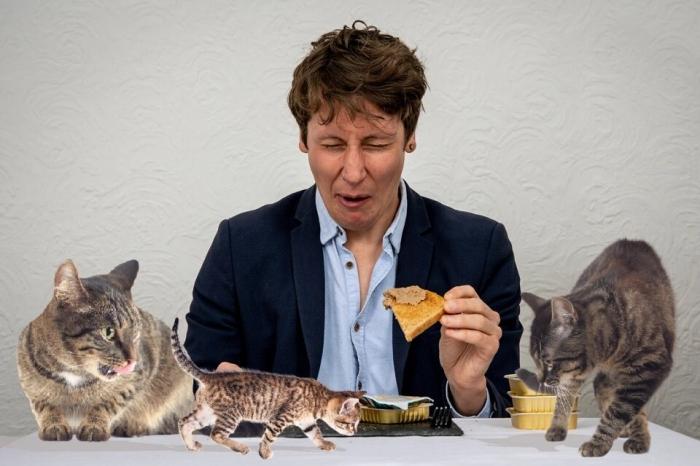 Мы попробовали паштет для кошек после того, как одна английская пара назвала его «великолепным муссом», видимо по ошибке